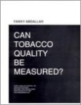 Can Tobacco Quality Be Measured?